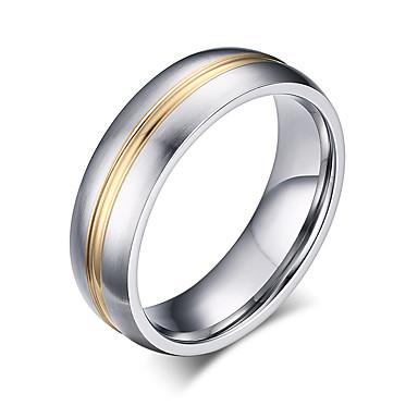 Homens / Mulheres Pele / Renda / Rosa Folheado a Ouro Anel / Anel de banda - Redonda Vintage / Elegant / Fashion Dourado Anel Para
