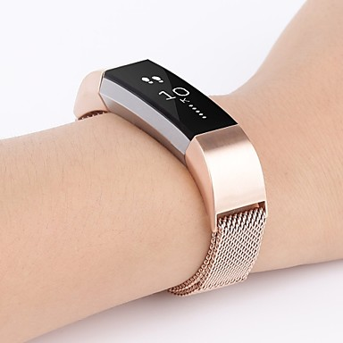 Pulseiras de Relógio para Fitbit Alta Fitbit Pulseira Estilo Milanês Aço Inoxidável Tira de Pulso