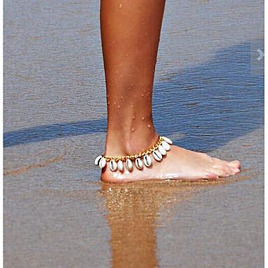 voordelige Lichaamssieraden-Dames Blote voeten sandalen Traan Modieus Enkelring  Sieraden Goud / Zilver Voor Dagelijks Causaal