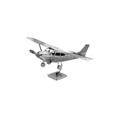 voordelige 3D-puzzels-3D-puzzels Modelbouwsets Vliegtuig Plezier Roestvast staal Klassiek Kinderen Unisex Speeltjes Geschenk