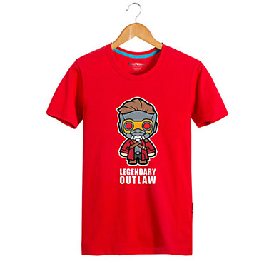 Cosplay Kostüme Zeichentrick - Kapuzenpullover & Pullover Superheld Krieger Film/Fernsehen Thema Kostüme Film Cosplay T-shirt Halloween