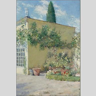 Pintados à mão Abstrato Panorâmico vertical, Abstracto Tela de pintura Pintura a Óleo Decoração para casa 1 Painel