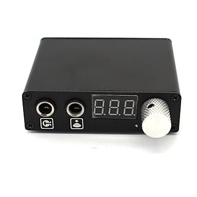 LCD Tattoo stroj napájení digitální profesionální výkon Clip Cord Nožní spínač Zástrčka