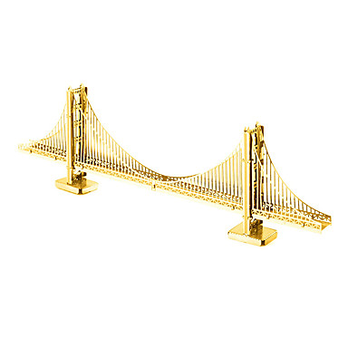 3D puzzle Kovové puzzle Modele Architektura Zábava Kov Klasické