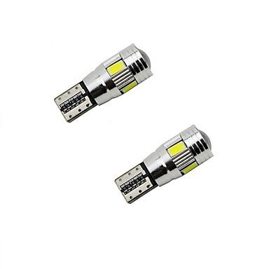 T10 Carro Lâmpadas 3W W SMD 5630 150lm lm Iluminação interior