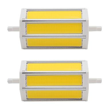 7W 320-340 lm LED bodovky Trubice 3 lED diody COB Teplá bílá Chladná bílá AC85-265 AC 85-265V