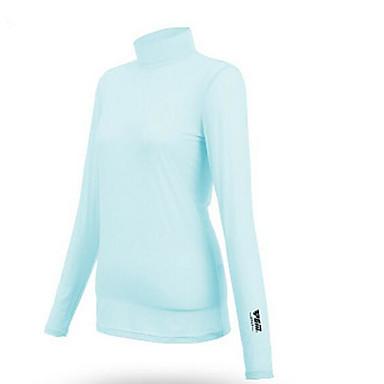 Mulheres Manga Longa Golfe Camiseta Blusas Golf Golfe