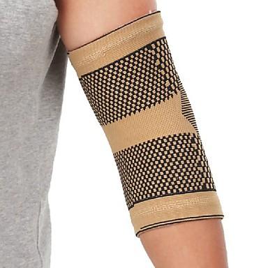 Cotoveleira para Corrida Exterior Adulto Anti-fricção Respirável Apoio conjunto Roupas para Lazer 1pç Dourado
