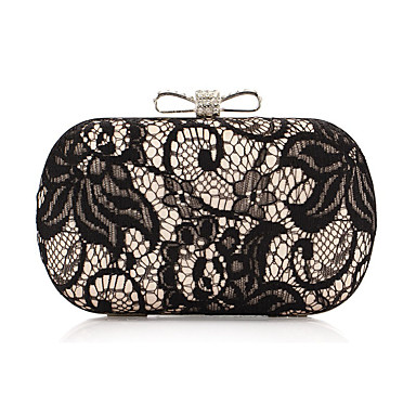 Women's Bags Polyester Tote Lace Gold / Silver