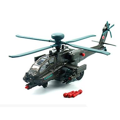 KDW Brinquedos de Montar Carrinhos de Fricção Helicóptero Brinquedos Aeronave Carro Helicóptero Liga de Metal Peças Unisexo Dom
