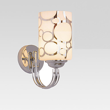 Metálico Flush Mount & Tiling Hugger Moderno/Contemporâneo Luz Luminárias de parede Para Metal Luz de parede 220V 110V 60W