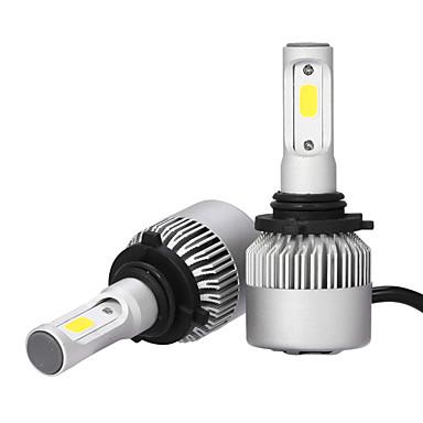 9006 Carro Lâmpadas 36W/pcs*2W COB 3600lm LED Lâmpada de Farol