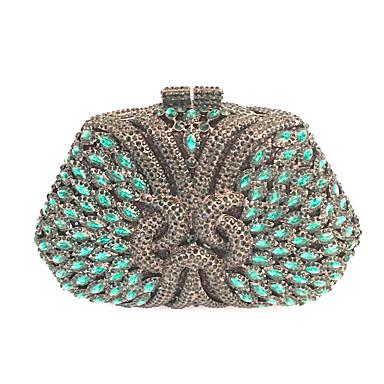 Damen Taschen PU Metall Unterarmtasche Perle Crystal / Strass für Hochzeit Veranstaltung / Fest Formal Büro & Karriere Frühling Sommer