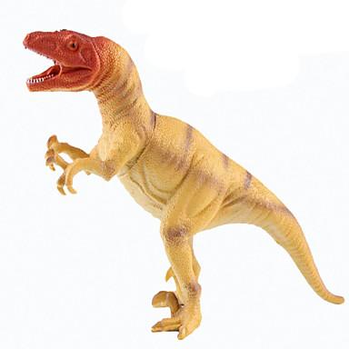 Dragões & Dinossauros Figuras de dinossauro tiranossauro Dinossauro jurássico Triceratops Tiranossauro Rex Silicone Plástico Para Meninos