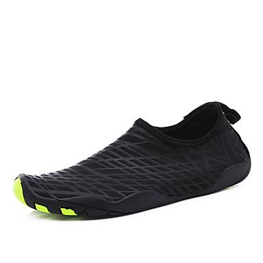 Herren Schuhe PU Sommer Komfort Sportschuhe Wasser-Schuhe Für Schwarz Grau Grün Schwarz/weiss