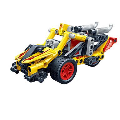 Carros de Brinquedo Blocos de Construir Carrinhos de Fricção Eagle Carro de Corrida Criativo Faça Você Mesmo Carro de Corrida Unisexo Para Meninos Brinquedos Dom