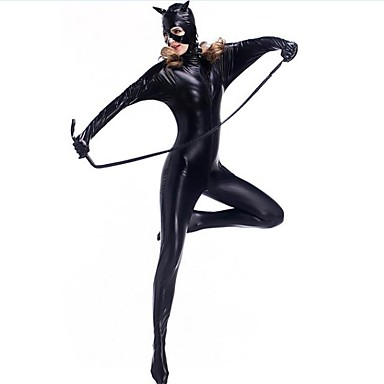 Super-Heróis Ninja Assassin Ternos Zentai Fantasias de Cosplay Mulheres Natal Dia Das Bruxas Carnaval Ano Novo Festival / Celebração