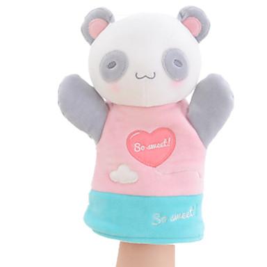 Fantoches de dedo Bonecas Pelúcias Brinquedos Rabbit Urso Panda Animal Animais Tactel Crianças Peças