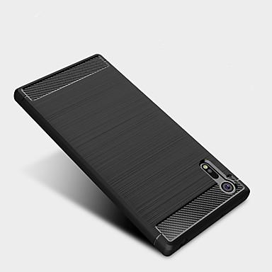 Capinha Para Sony Antichoque Capa traseira Sólido Macia TPU para Sony Xperia XZ Premium / Sony Xperia XZ / Sony Xperia XA1 Ultra