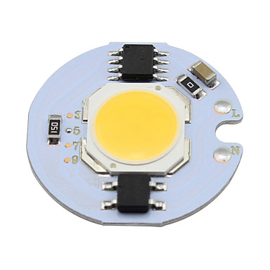 3w cob levou chip 280lm para spot lights chip on board lâmpada lâmpada lighting warm / cool white (1 peça)
