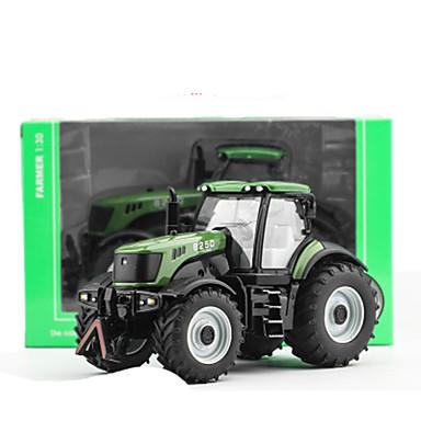 Leluautot Taaksepäin vedettävät ajoneuvot Leikkiauto Rakennusajoneuvo Traktori Puskutraktori Lelut Auto Metalliseos Pieces Unisex Lahja