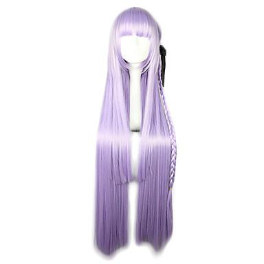 Lolita Wigs Sweet Lolita Dress Purple Lolita Lolita Wig 100 CM Cosplay Wigs Solid Wig For