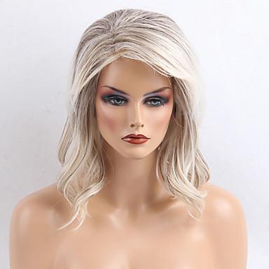 Paruka na vlasy bez vlasů Přírodní vlasy Kudrny Klasický Vysoká kvalita na stroji Paruka Denní