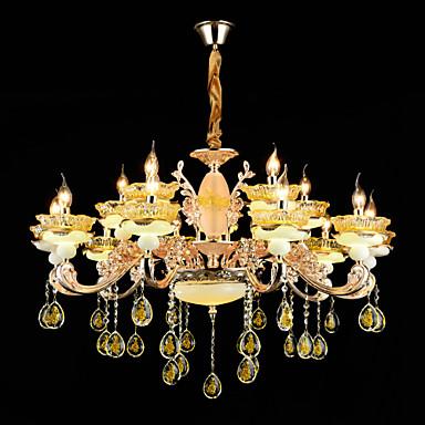 Kristall Ministil Pendelleuchten Deckenfluter Für Innen Esszimmer Korridor 110-120V 220-240V Glühbirne nicht inklusive