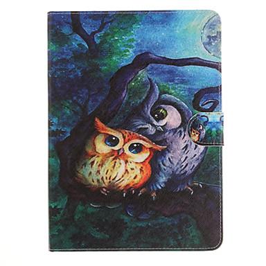 Capinha Para Apple iPad Mini 4 iPad Mini 3/2/1 iPad 4/3/2 iPad Air 2 iPad Air Porta-Cartão Antichoque Com Suporte Flip Estampada Capa