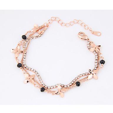 Women's Chain Bracelet - Flower Fashion Bracelet Gold For Party