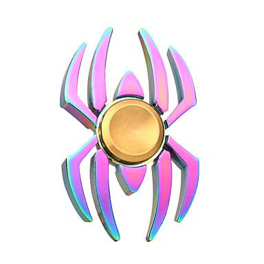 اليد سبينر ألعاب يخفف أد، أدهد، والقلق والتوحد SPIDER معدن قطع للبالغين هدية