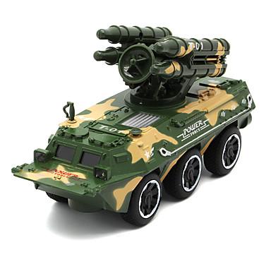 Armeijan ajoneuvo Panssarivaunu Toy Trucks & Rakennusajoneuvot Leluautot 01:32 Simulointi Metalliseos Unisex Lasten Lelut Lahja