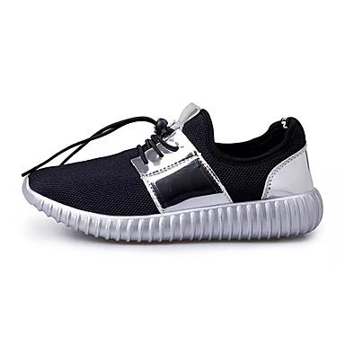 Miesten kengät Tyll Kevät / Syksy Comfort Urheilukengät Kävely Kulta / Musta / Hopea