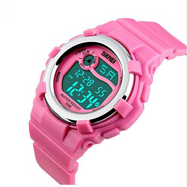 Relógio inteligente Impermeável Multifunções Esportivo Cronómetro Relogio Despertador Cronógrafo Calendário Dois Fusos Horários Other No