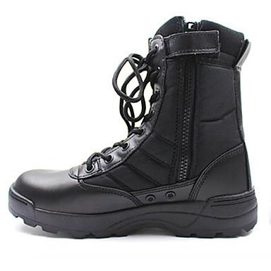 Homens sapatos Tule Outono Inverno Tira no Tornozelo Tênis Corrida em Pista Botas Curtas / Ankle Cadarço para Atlético Escritório e