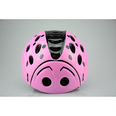 Kinder Fahrradhelm Radsport N/A Öffnungen Einstellbare Passform Extraleicht(UL) Sport Bergradfahren Straßenradfahren Freizeit-Radfahren