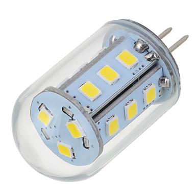 5W G4 LED Bi-Pin lamput T 18 LEDit SMD 2835 Lämmin valkoinen Kylmä valkoinen 200-300lm 2700-6500