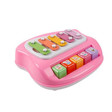Xilofone Acessório para Casa de Boneca Brinquedos Diversão Plásticos Peças Crianças Dom