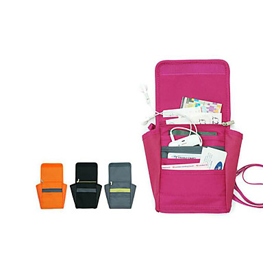 Reisegeldbeutel / Reisepasshülle & Ausweishülle / Crossbody Taschen Tragbar / Leicht / Wasserdicht für Kleider Stoff / Polyester 12*22*33 cm Damen Draußen / Reise