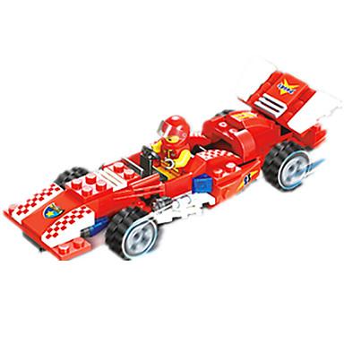 JIE STAR Carros de Brinquedo Blocos de Construir 110 pcs Carro de Corrida Criativo Faça Você Mesmo Carro de Corrida Unisexo Para Meninos Para Meninas Brinquedos Dom