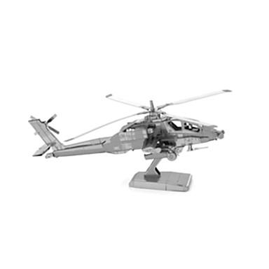 3D - Puzzle Helikopter Spaß Edelstahl Klassisch