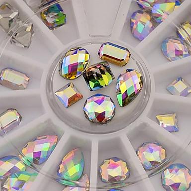 Недорогие Все для маникюра-1 pcs Кристаллы маникюр Маникюр педикюр Повседневные Neon & Bright / Мода