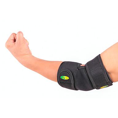 Cotoveleira para Corrida Exterior Adulto Anti-fricção Respirável Apoio conjunto Roupas para Lazer 2pçs Preto