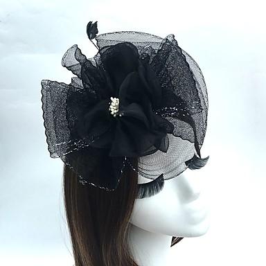 Fascinator Hüte Vogelkäfig Schleier Kopfschmuck klassischen weiblichen Stil