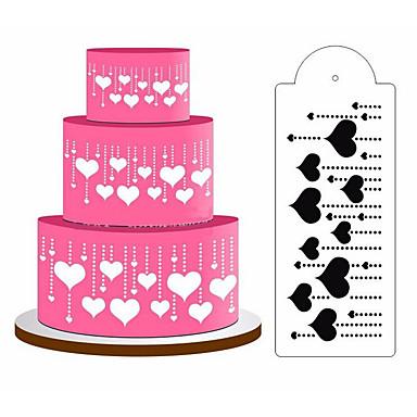 for Cake Muovit DIY Leivonta Tool Koristeluväline