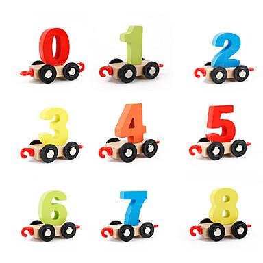 Muwanzi Stavební bloky / Matematické hračky Vlečka Chlapecké Dárek