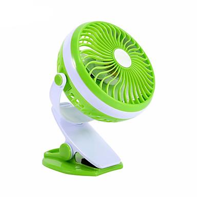 360 graus de mini usb cargando fã ventilador dormitório pequeno
