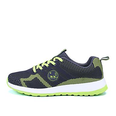 Běžecké boty Boty na běžné nošení Tenisky Pánské Vevnitř Výkon Venkovní Prodyšná síťovina PU PVC