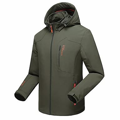 Herrn Wanderjacke Außen Winter Atmungsaktiv Schweißableitend wasserdicht Anti - Moskito Jacke Oberteile Laufen