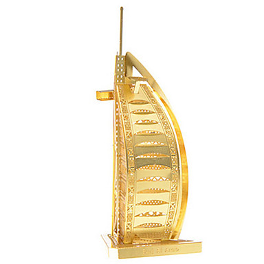 3D puzzle Kovové puzzle Modele Architektura Burj Al Arab Zábava Kov Klasické